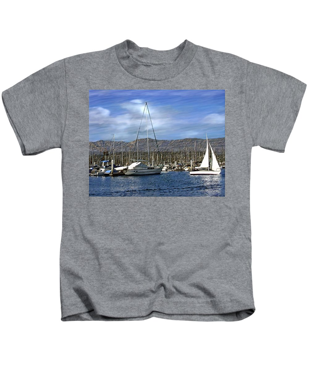 Ocean Kids T-Shirt featuring the photograph Another Sunny Day by Kurt Van Wagner