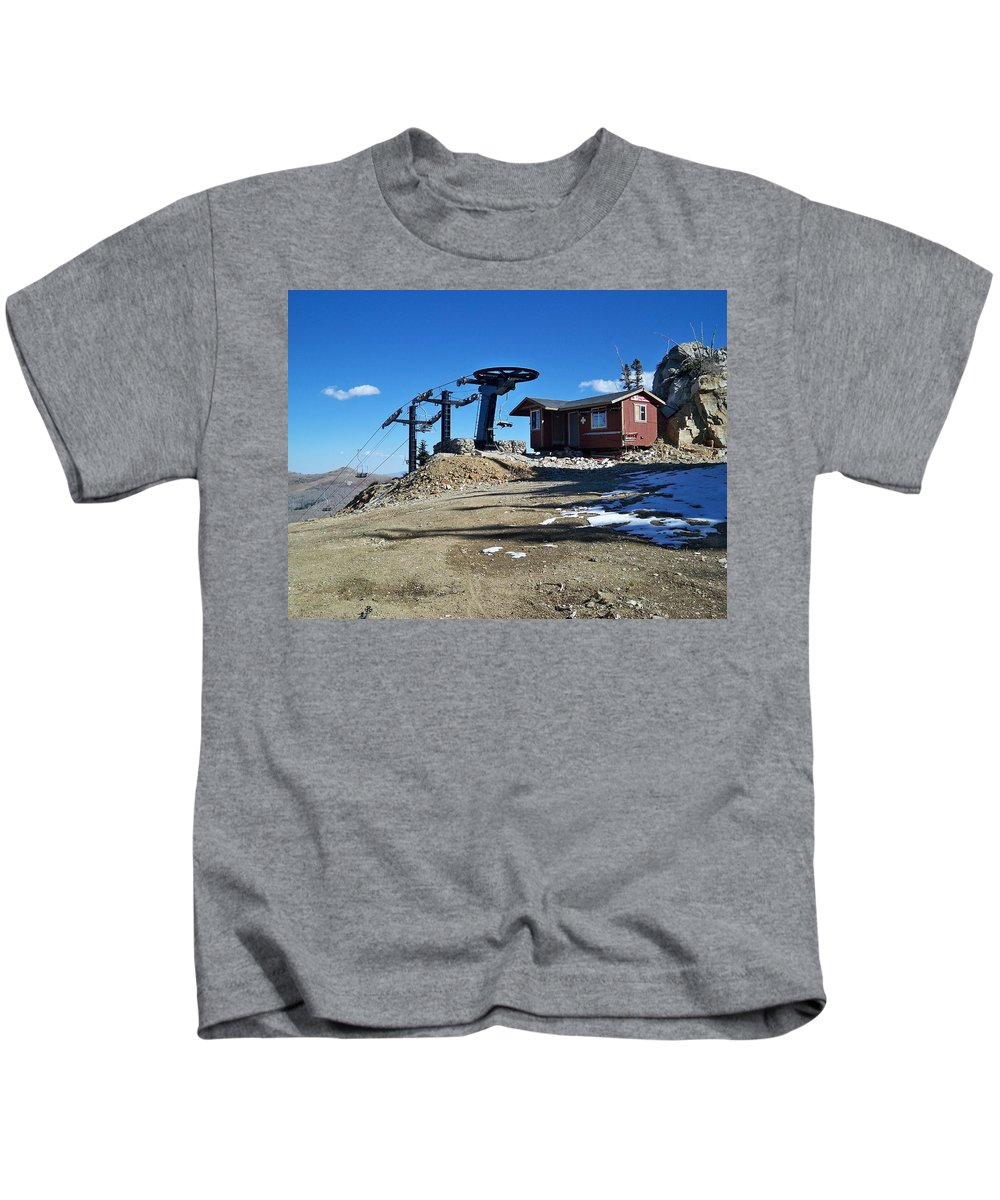 Landscape Kids T-Shirt featuring the photograph Anticipation by Michael Cuozzo