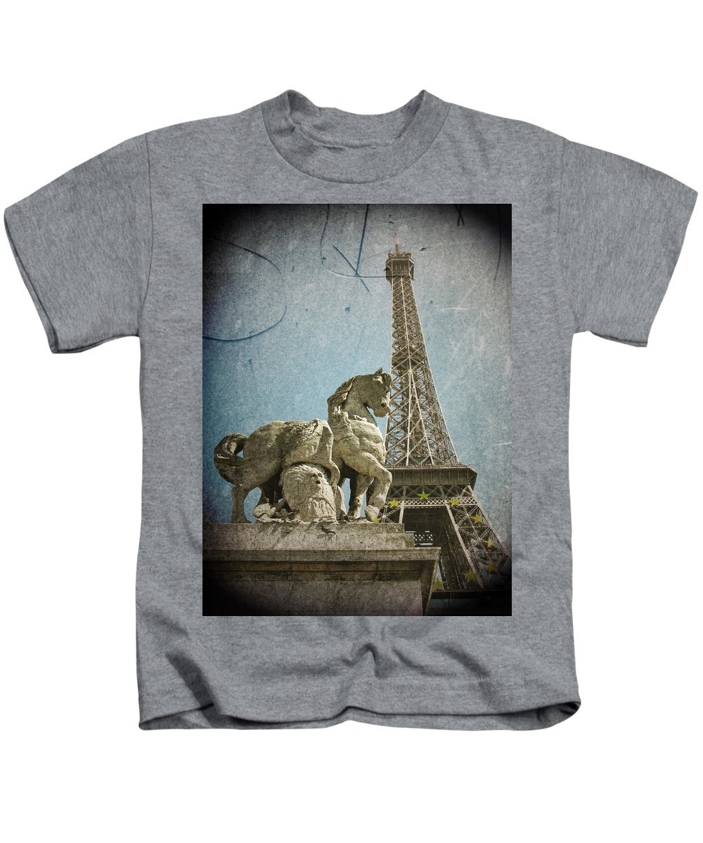 Aged Kids T-Shirt featuring the photograph Antiquation by Andrew Paranavitana