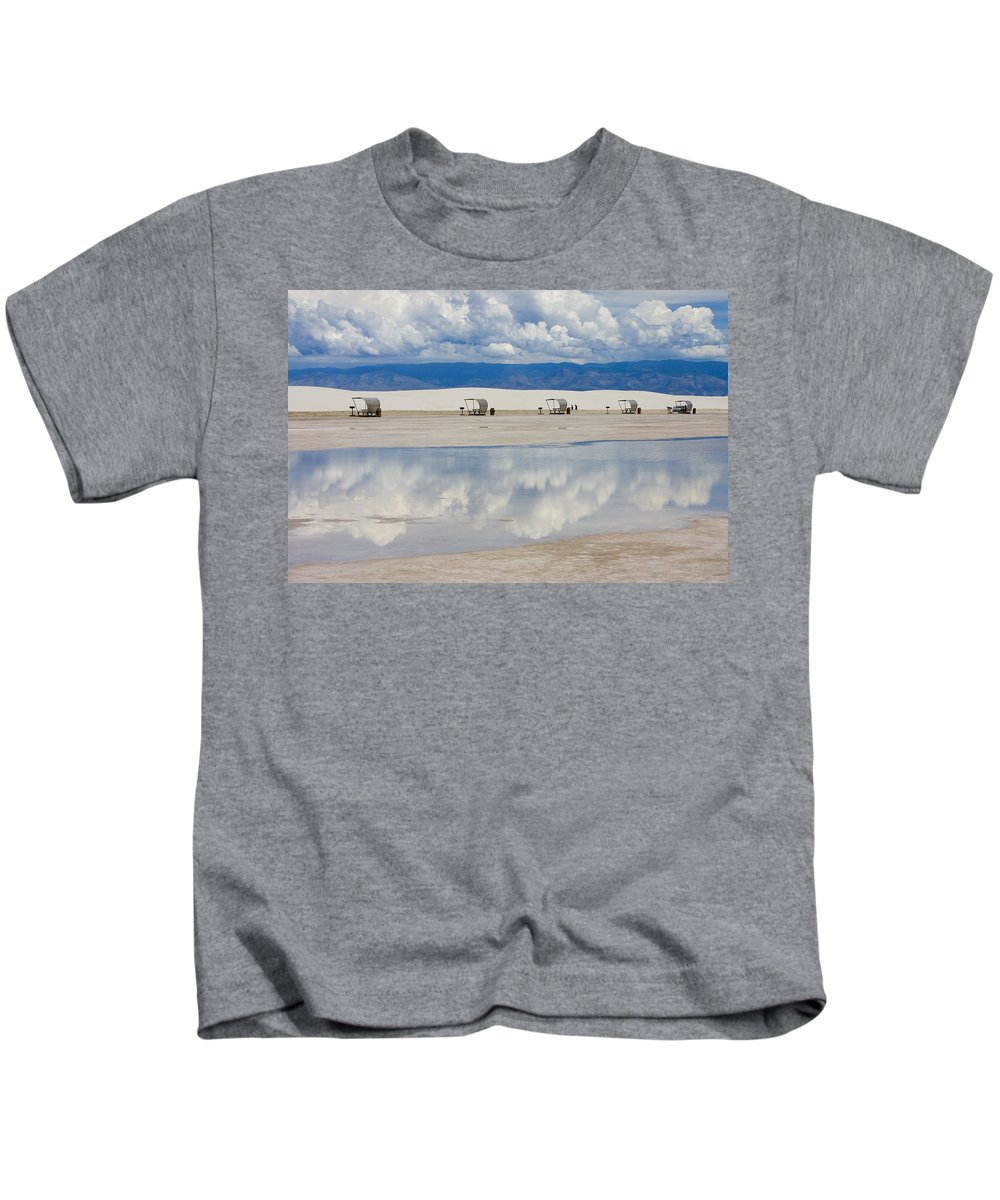 New Mexico Kids T-Shirt featuring the photograph Armageddon Picnic by Skip Hunt
