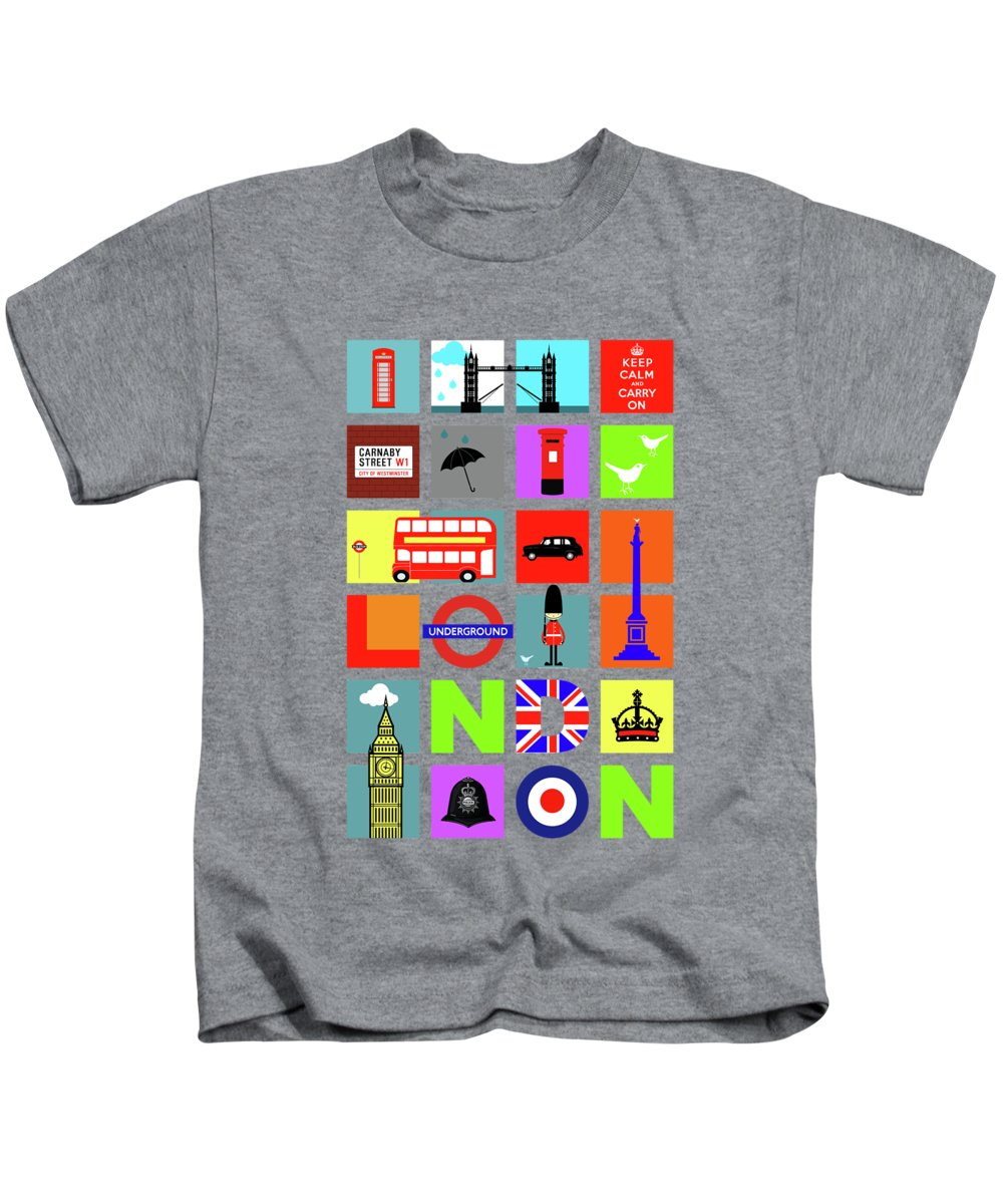 United Kingdom Kids T-Shirts