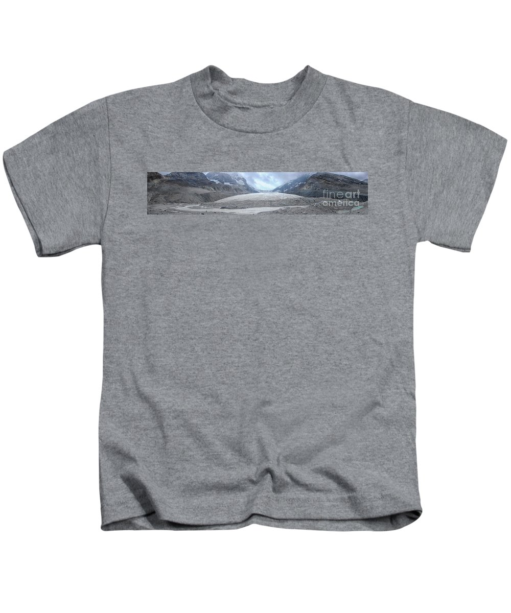 Glacier Kids T-Shirt featuring the photograph Athabasca Glacier, Jasper National Park by Patricia Hofmeester