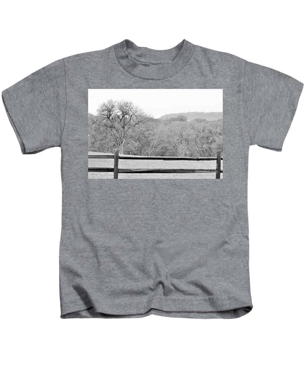 Kids T-Shirt featuring the photograph B/w041 by Jeff Downs