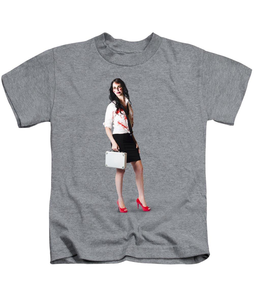 Drain Photographs Kids T-Shirts