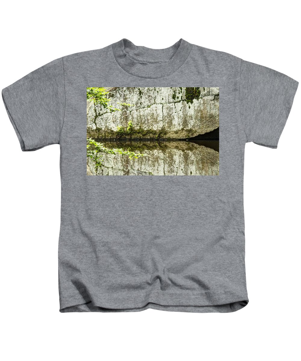 Creek Kids T-Shirt featuring the photograph Balancing Act by Mother Nature