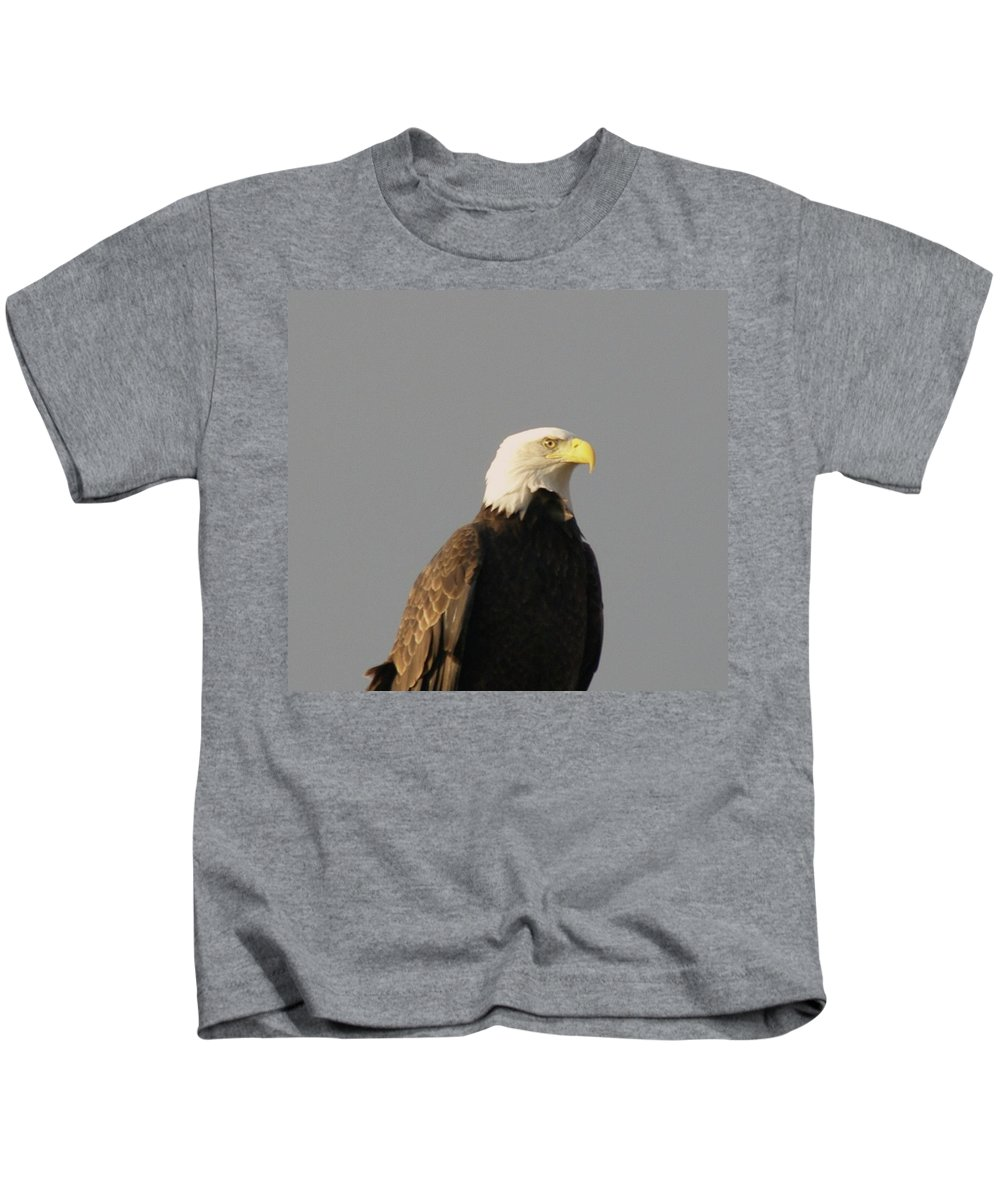 Eagles Kids T-Shirt featuring the photograph Bald Eagle by Jeff Swan