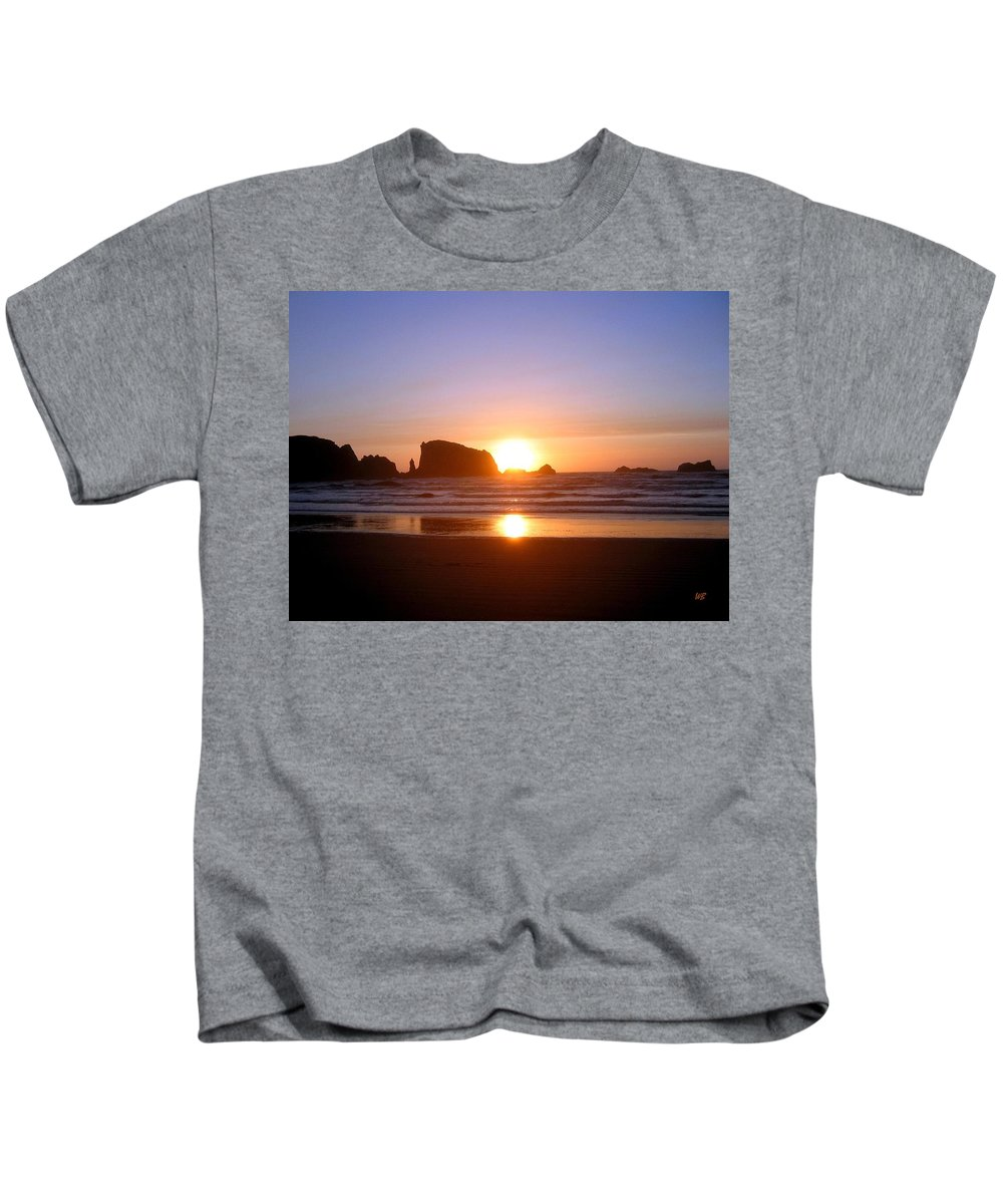 Bandon Kids T-Shirt featuring the photograph Bandon 7 by Will Borden
