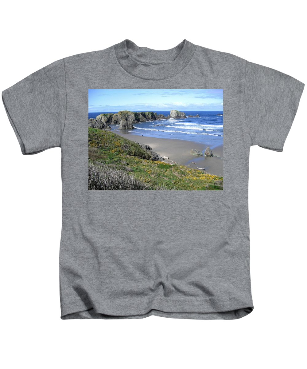 Bandon Kids T-Shirt featuring the photograph Bandon 8 by Will Borden