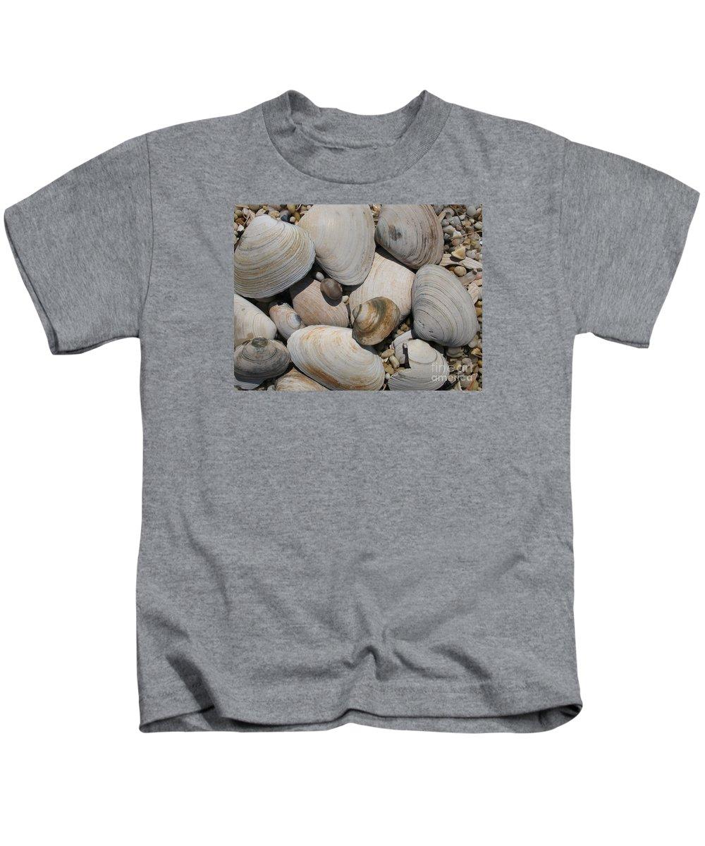 Beach Kids T-Shirt featuring the photograph Beach Still Life by Christiane Schulze Art And Photography