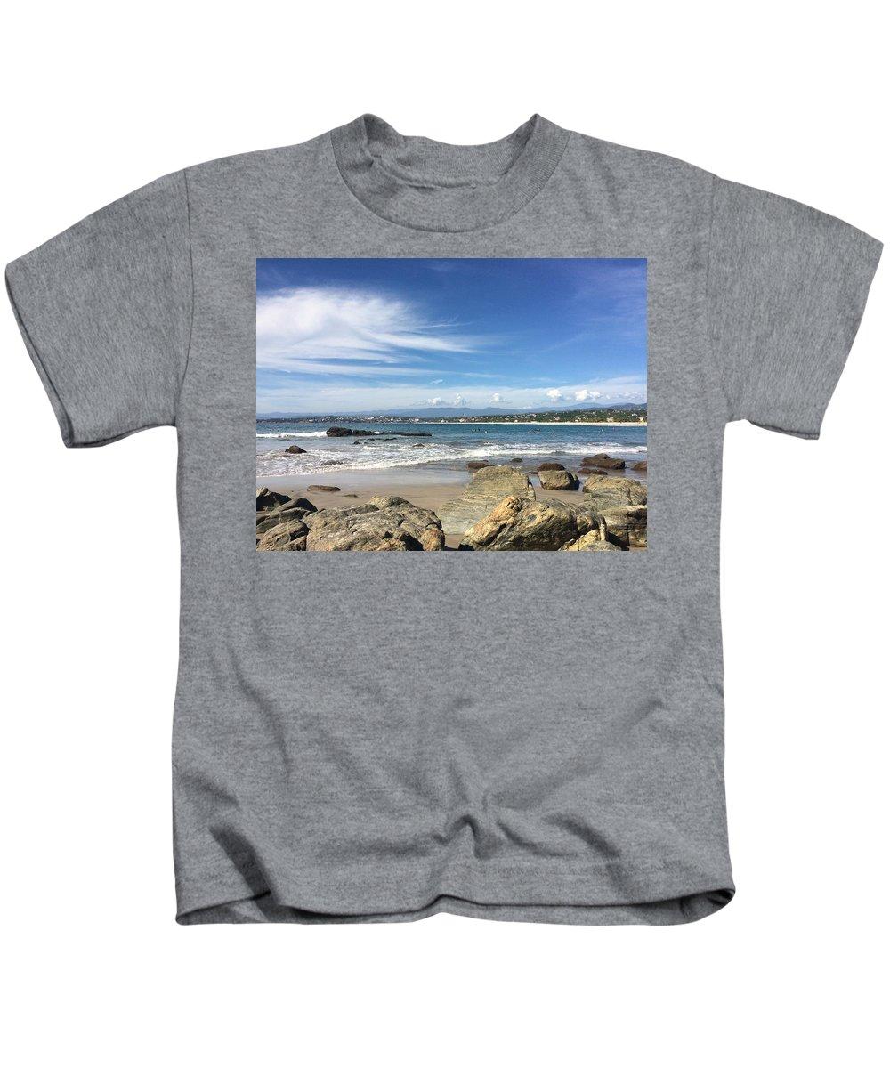 Ocean Kids T-Shirt featuring the photograph Beautiful Ocean by Chance Cox
