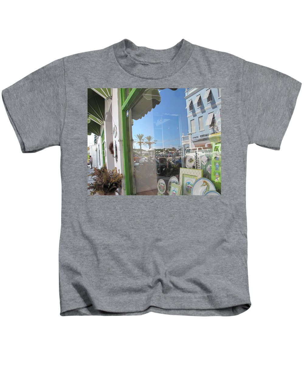 Bermuda Kids T-Shirt featuring the photograph Bermuda Reflections And Contrasts by Ian MacDonald