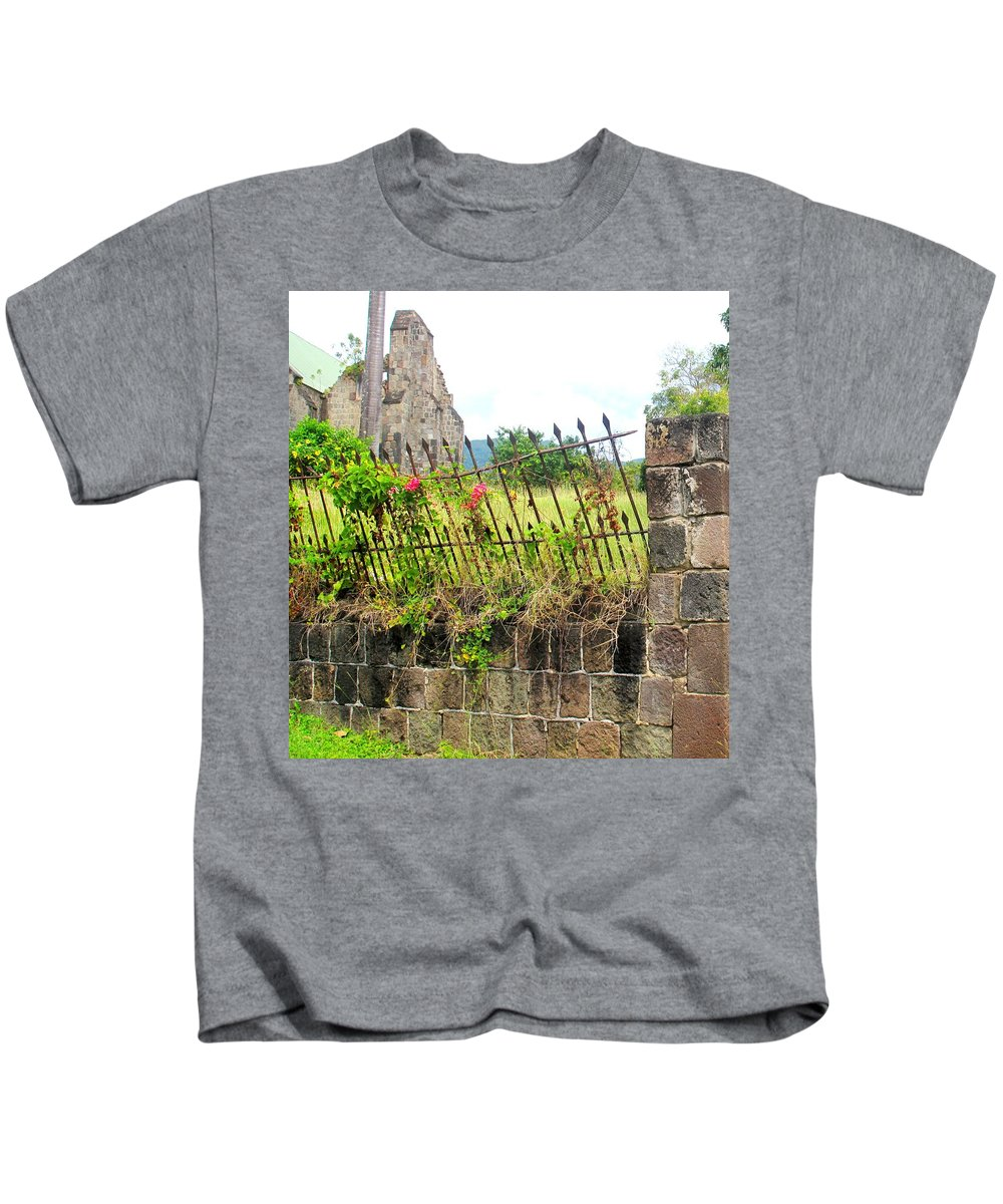 Church Kids T-Shirt featuring the photograph Better Days by Ian MacDonald