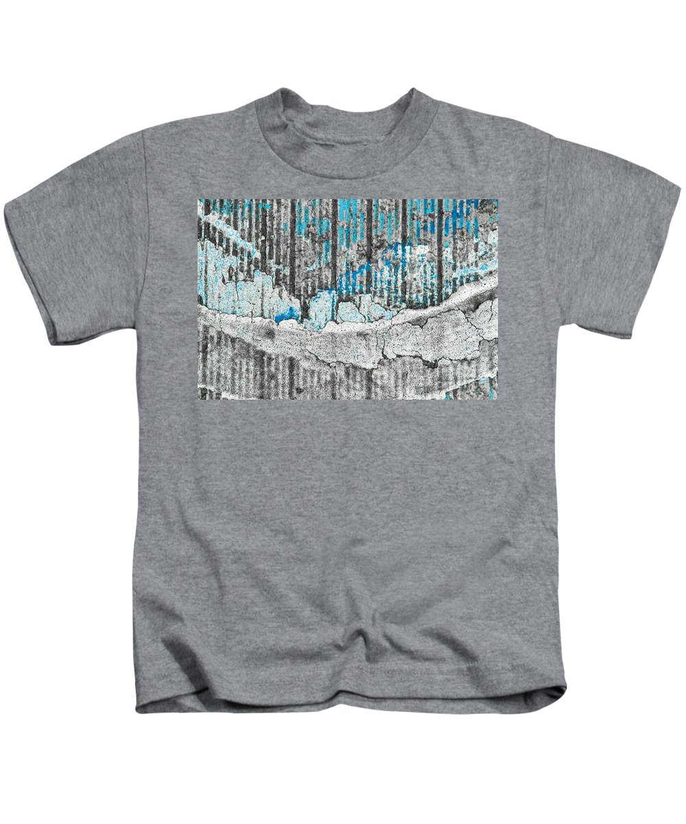 Abstracts Kids T-Shirt featuring the photograph Blue Valley by Marilyn Cornwell