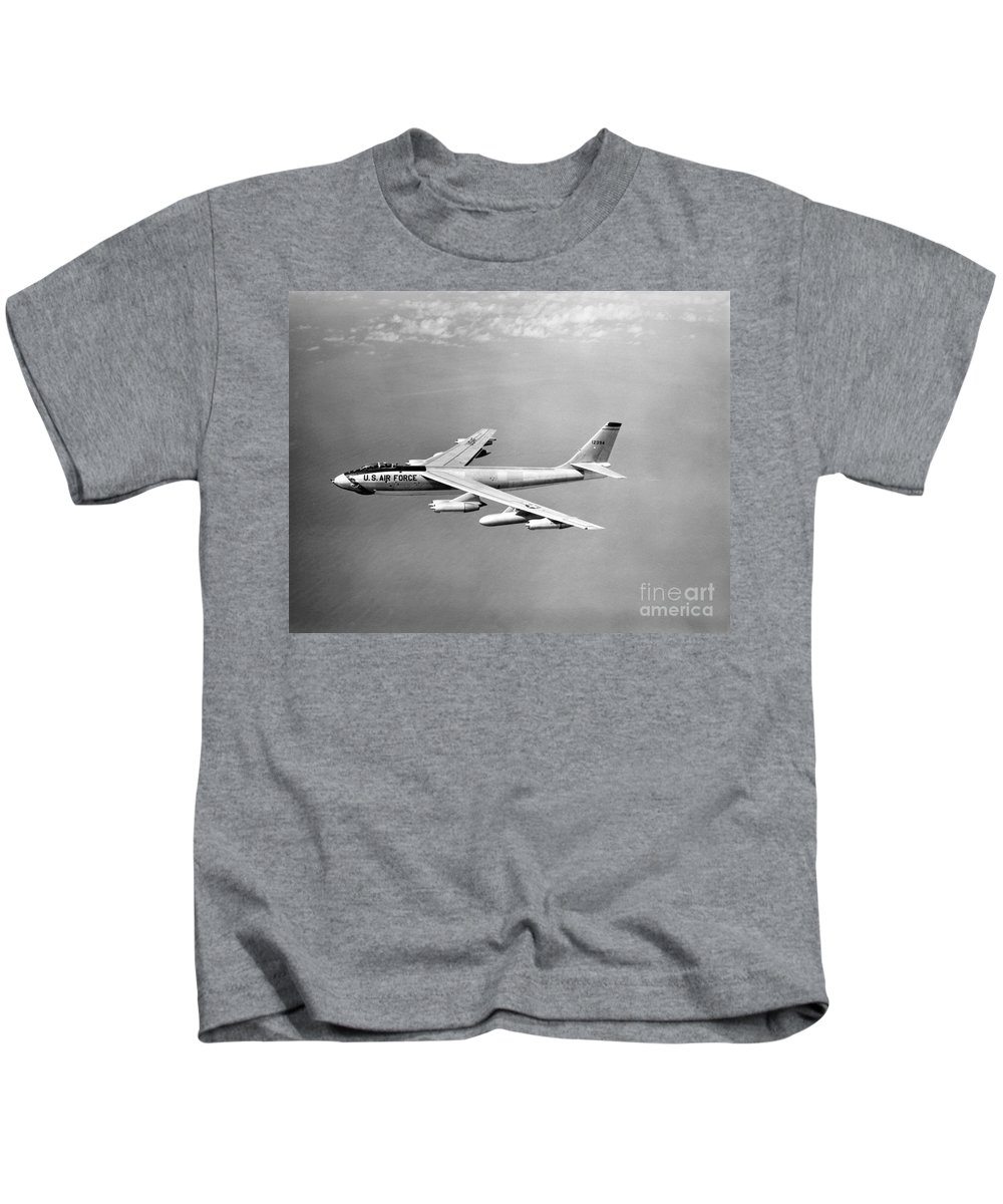 Science Kids T-Shirt featuring the photograph Boeing B-47 Stratojet, Wing-swept by Science Source