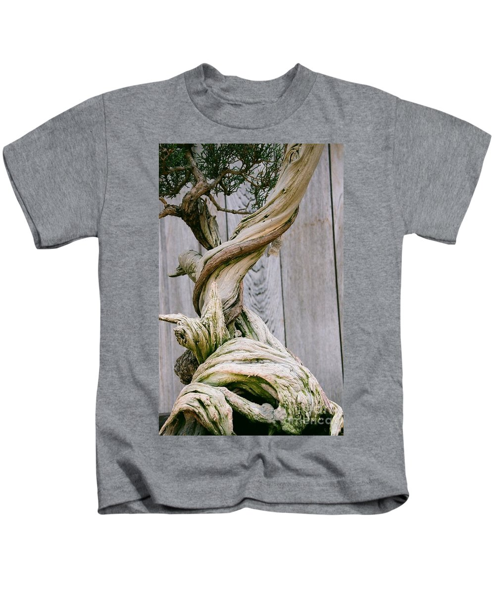 Tree Kids T-Shirt featuring the photograph Bonsai by Dean Triolo