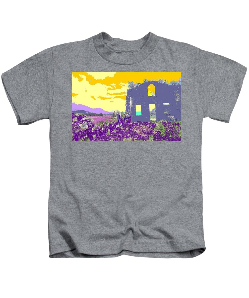 Brimstone Kids T-Shirt featuring the photograph Brimstone Sunset by Ian MacDonald