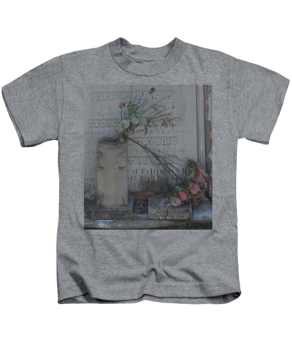 Flowers Kids T-Shirt featuring the photograph Broken Flowers by Eileen Marie Ardillo