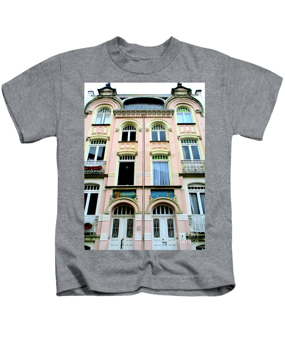 Bruges Kids T-Shirt featuring the photograph Bruges 9 by Randall Weidner