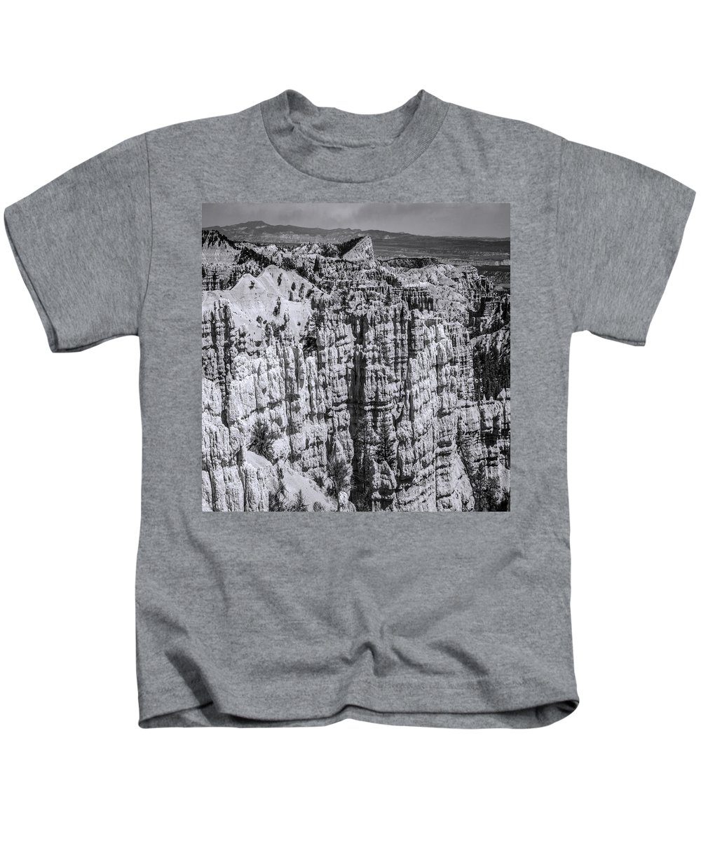 Adventure Kids T-Shirt featuring the photograph Brycecanyon 13 by Ingrid Smith-Johnsen