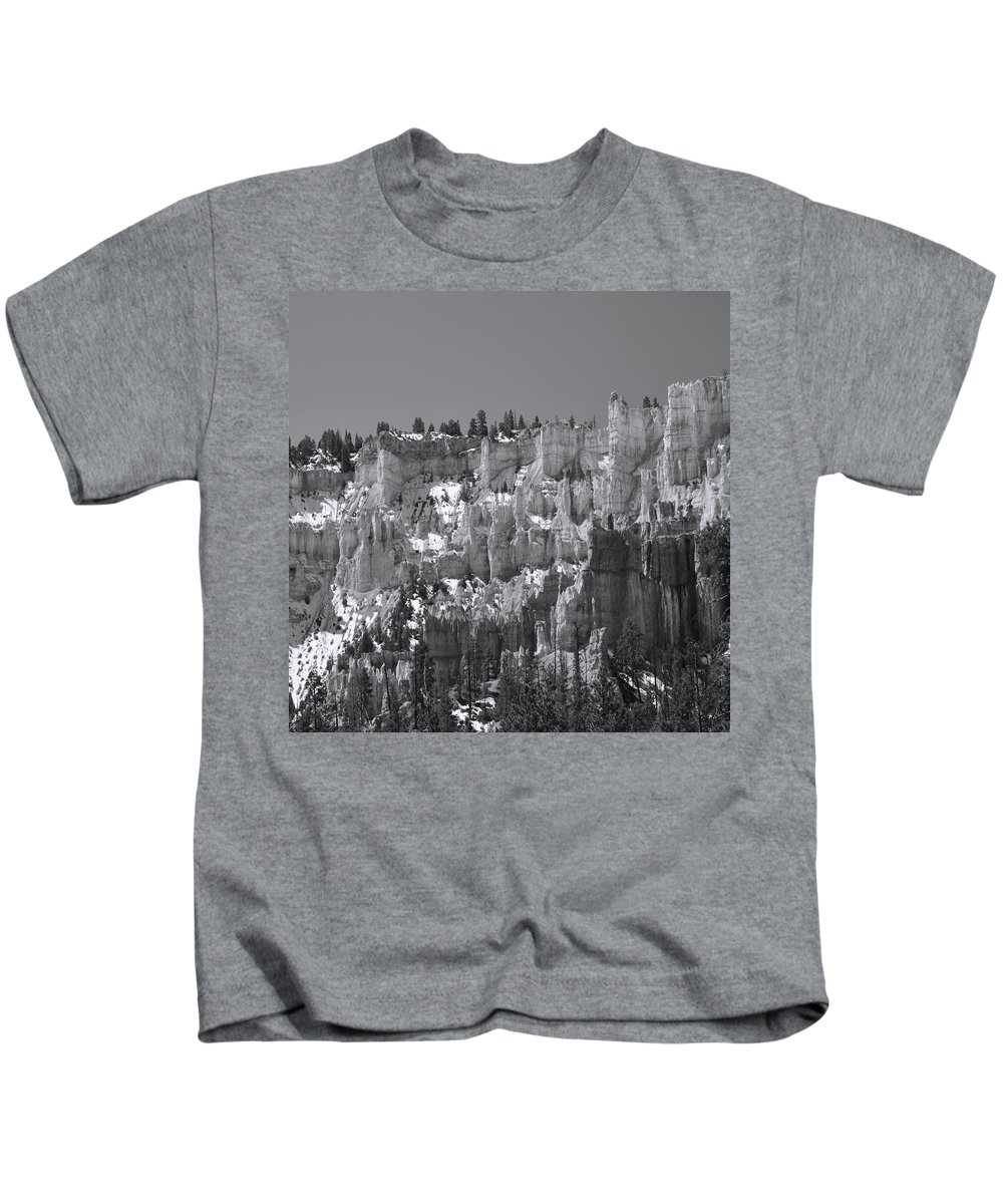 Adventure Kids T-Shirt featuring the photograph Brycecanyon 17 by Ingrid Smith-Johnsen