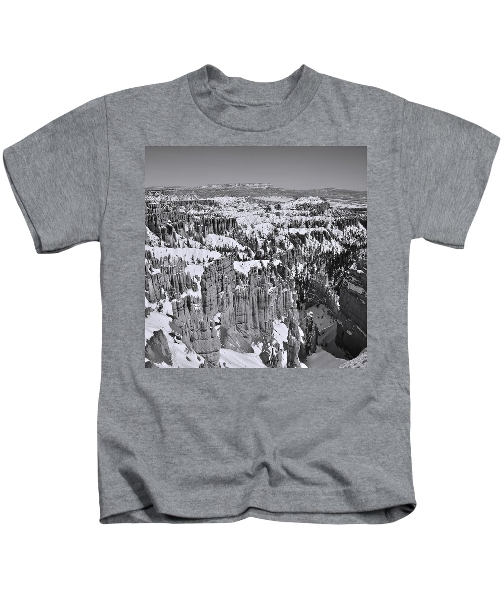Adventure Kids T-Shirt featuring the photograph Brycecanyon 18 by Ingrid Smith-Johnsen