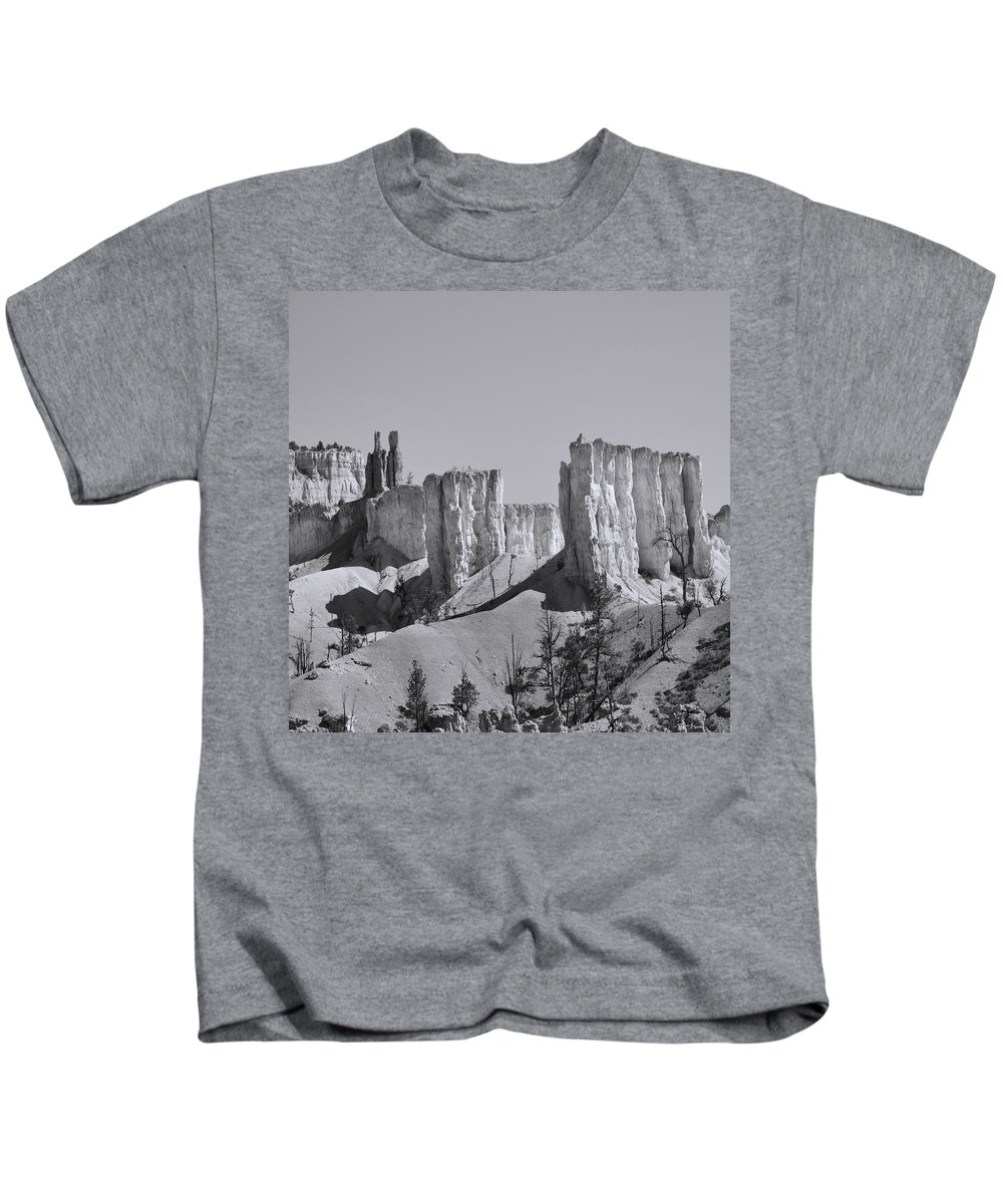 Adventure Kids T-Shirt featuring the photograph Brycecanyon 9 by Ingrid Smith-Johnsen