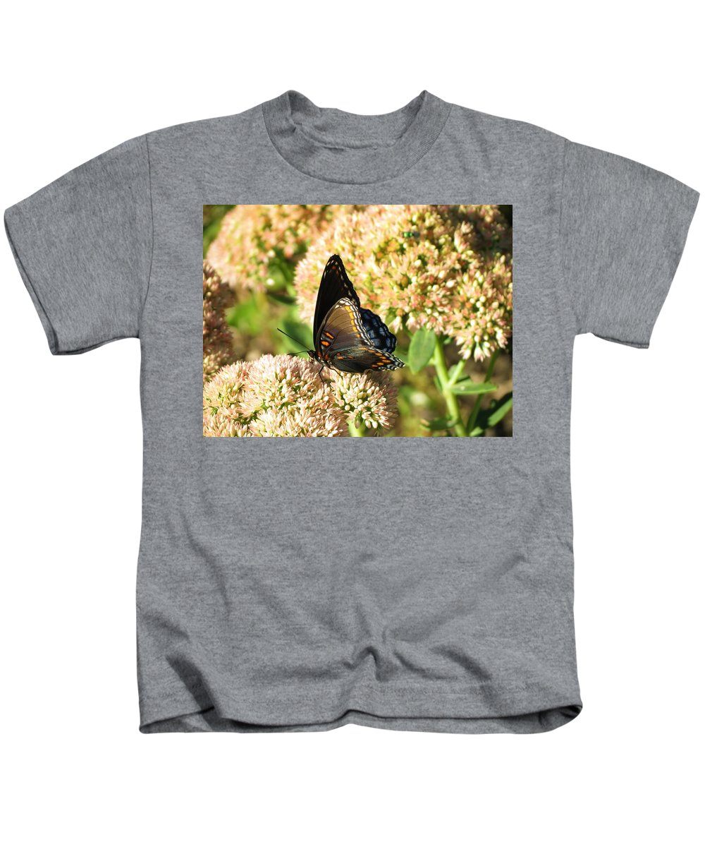 Butterfly Kids T-Shirt featuring the photograph Butterfly1 by Vijay Sharon Govender