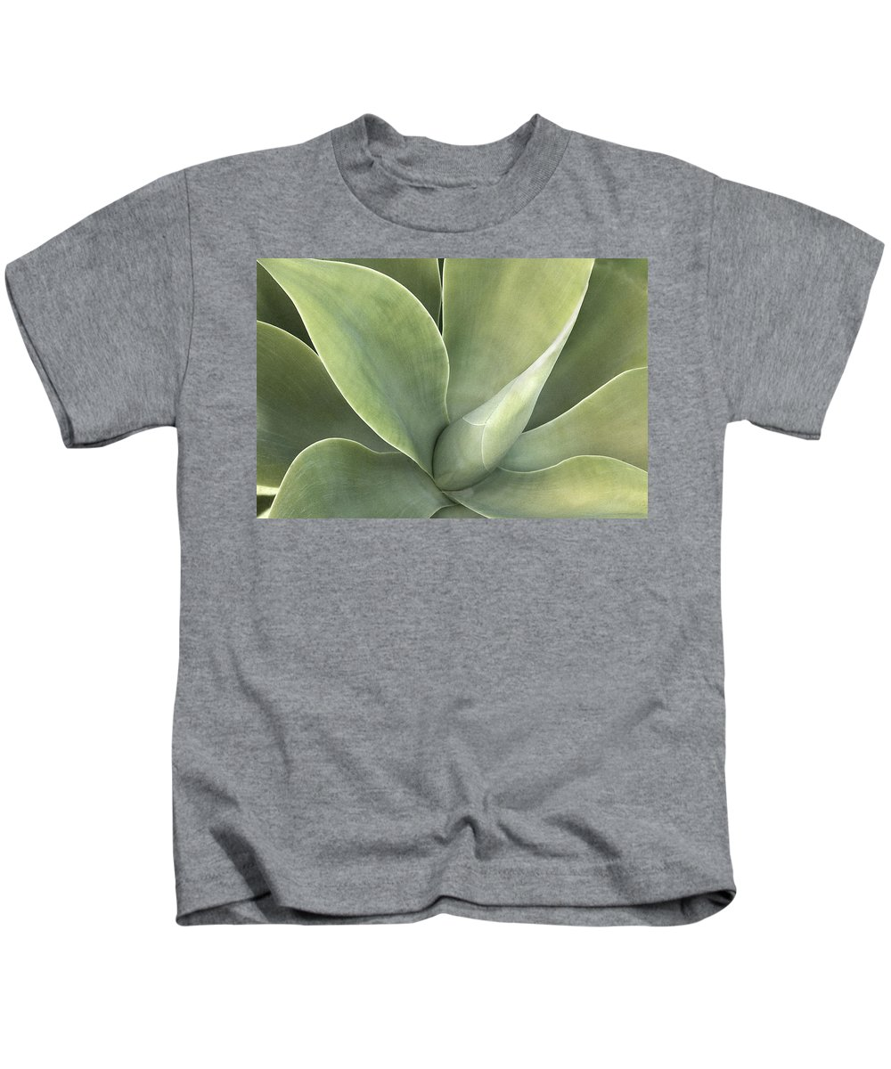 Agave Kids T-Shirt featuring the photograph Cali Agave by Rich Franco
