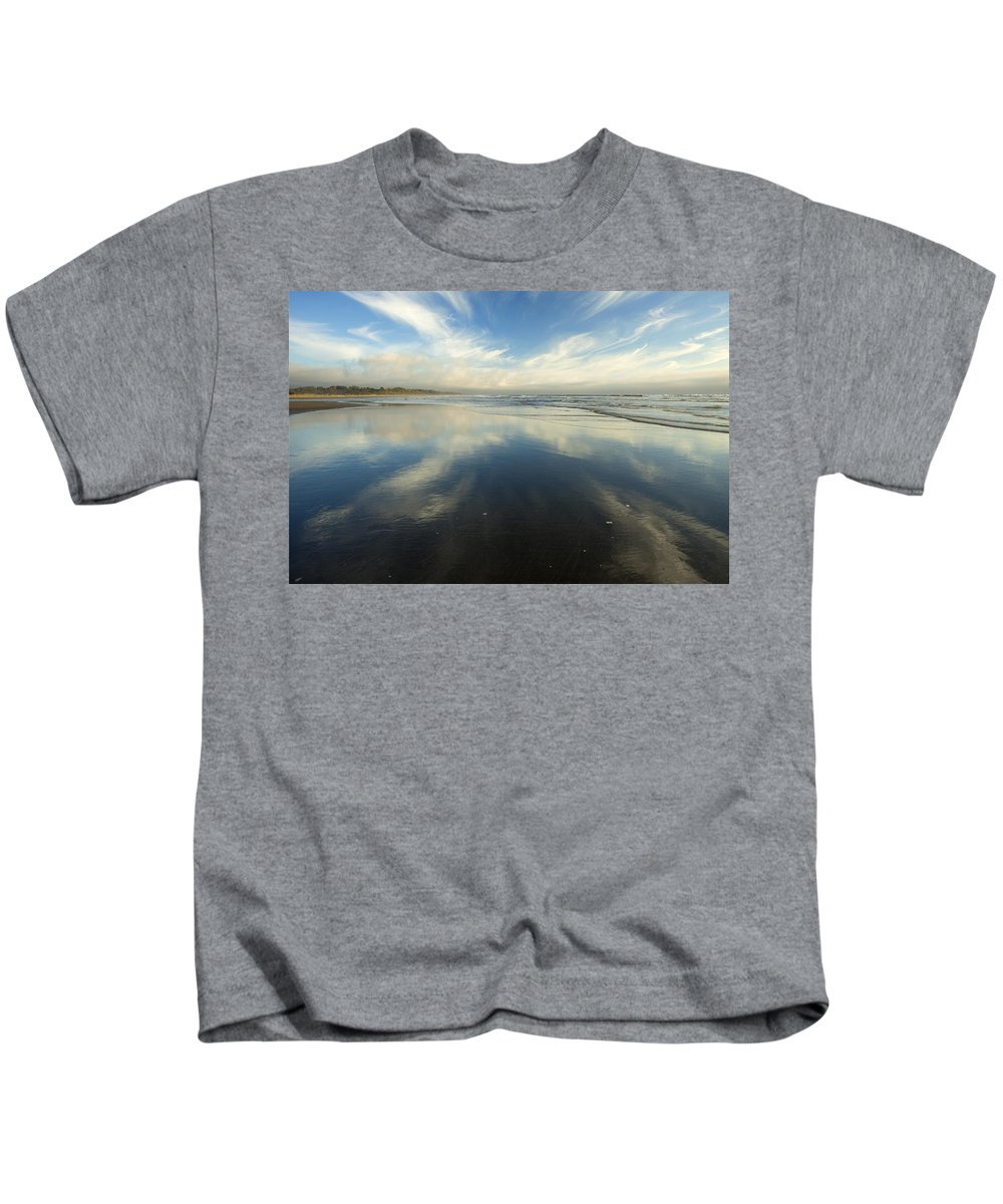 Cirrus Kids T-Shirt featuring the photograph California Cirrus Explosion by Mike Dawson