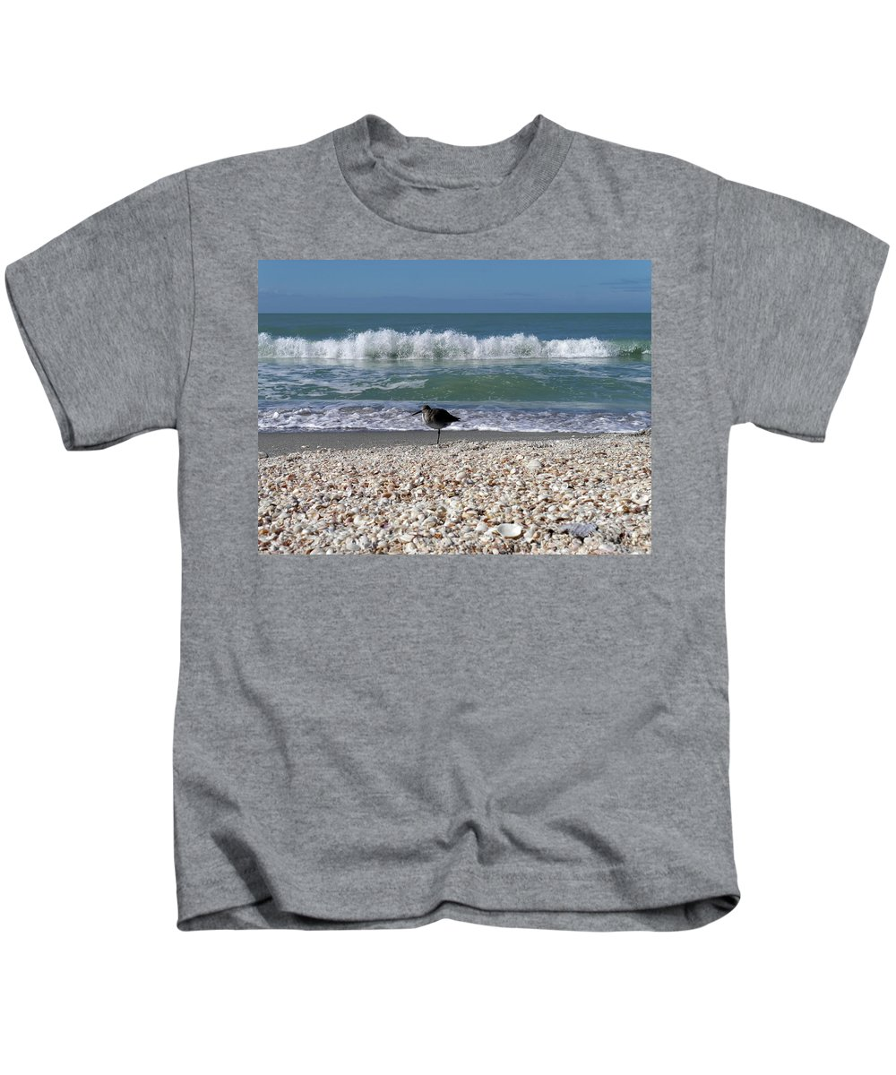 Captiva Kids T-Shirt featuring the photograph Captiva Island II by Tina Baxter
