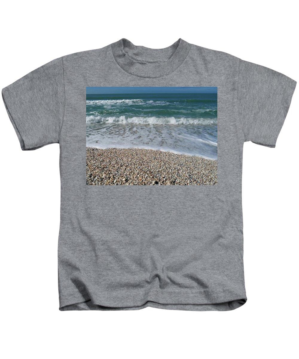 Captiva Kids T-Shirt featuring the photograph Captiva Island V by Tina Baxter