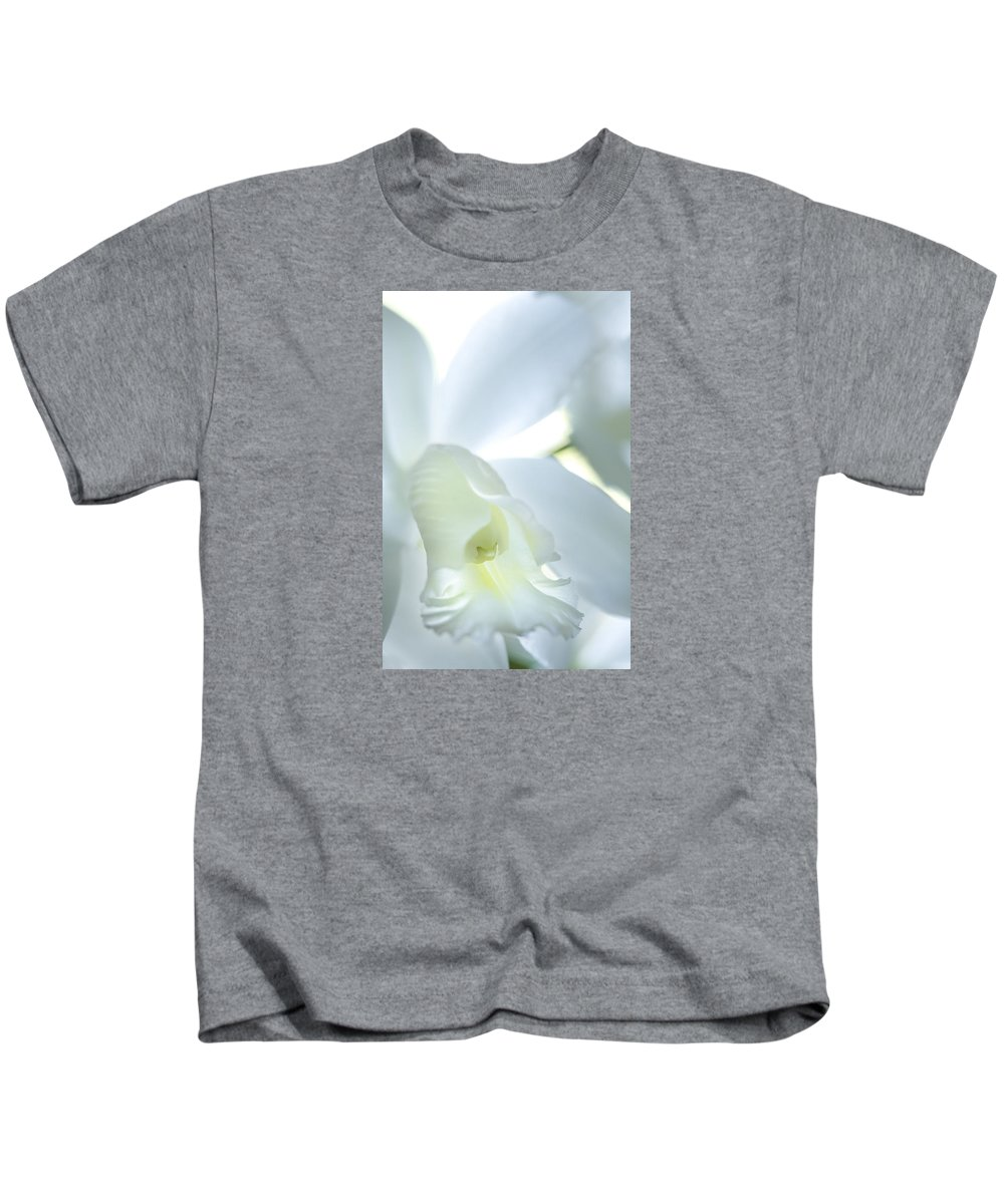 Blossom Kids T-Shirt featuring the photograph Cattleya Orchid #1 by George Robinson