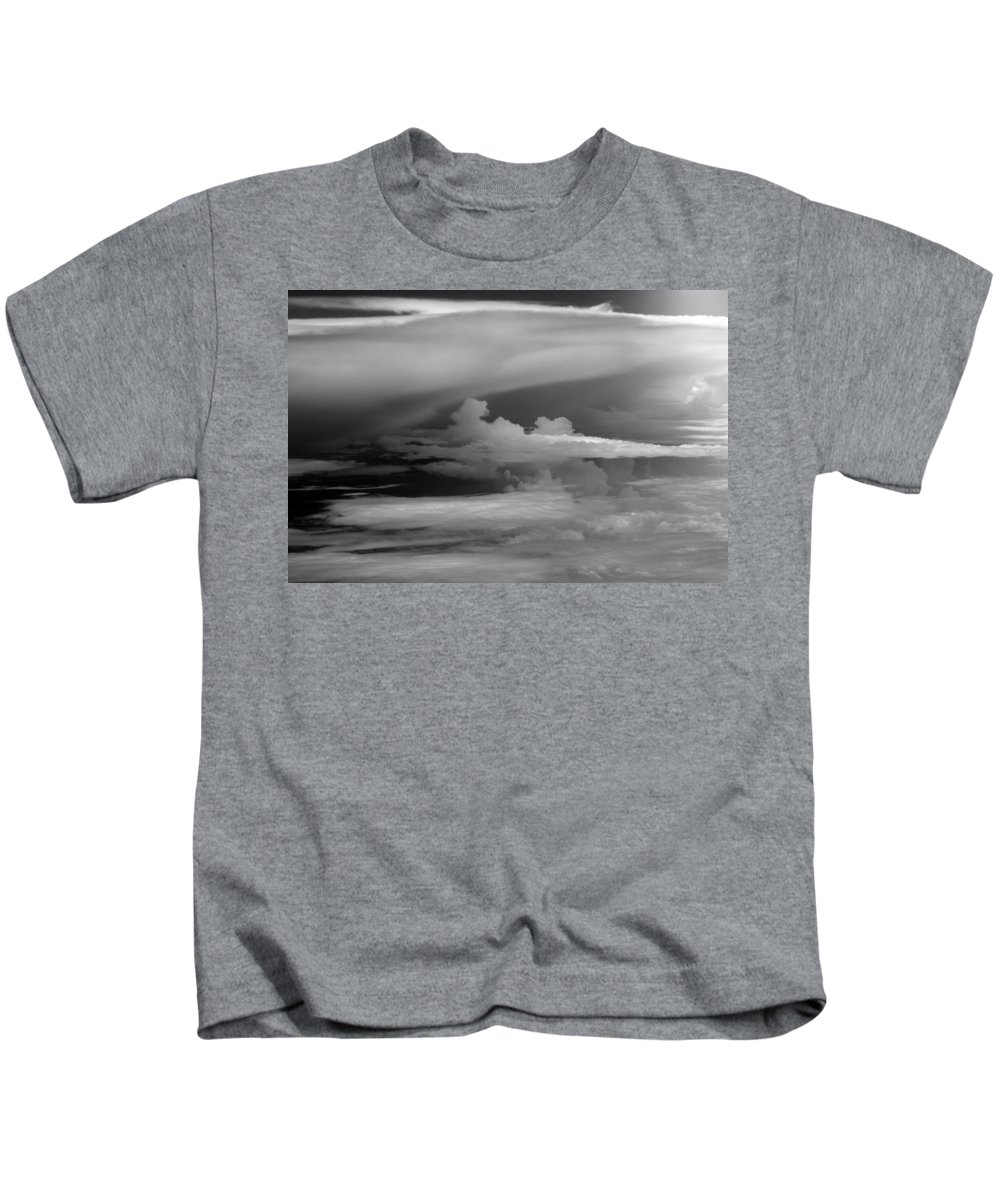 Cloud Photos Kids T-Shirt featuring the photograph Cb6.218 by Strato ThreeSIXTYFive