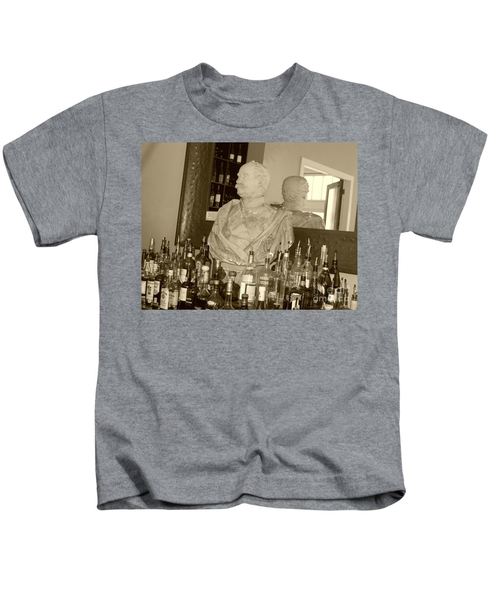 Bust Kids T-Shirt featuring the photograph Chipped Reflection by Debbi Granruth