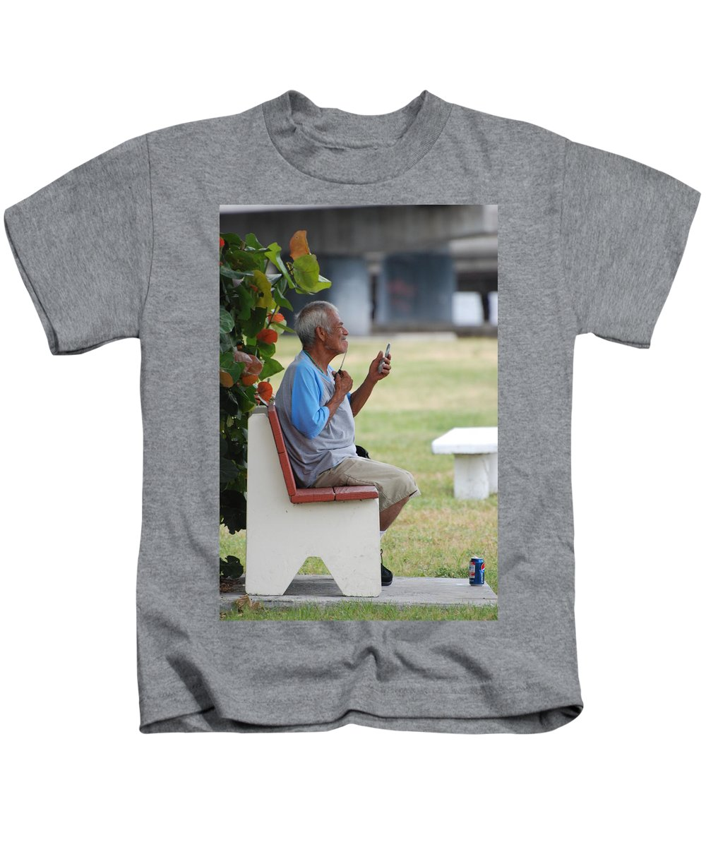 Homeless Kids T-Shirt featuring the photograph Choice Of A New Generation by Rob Hans