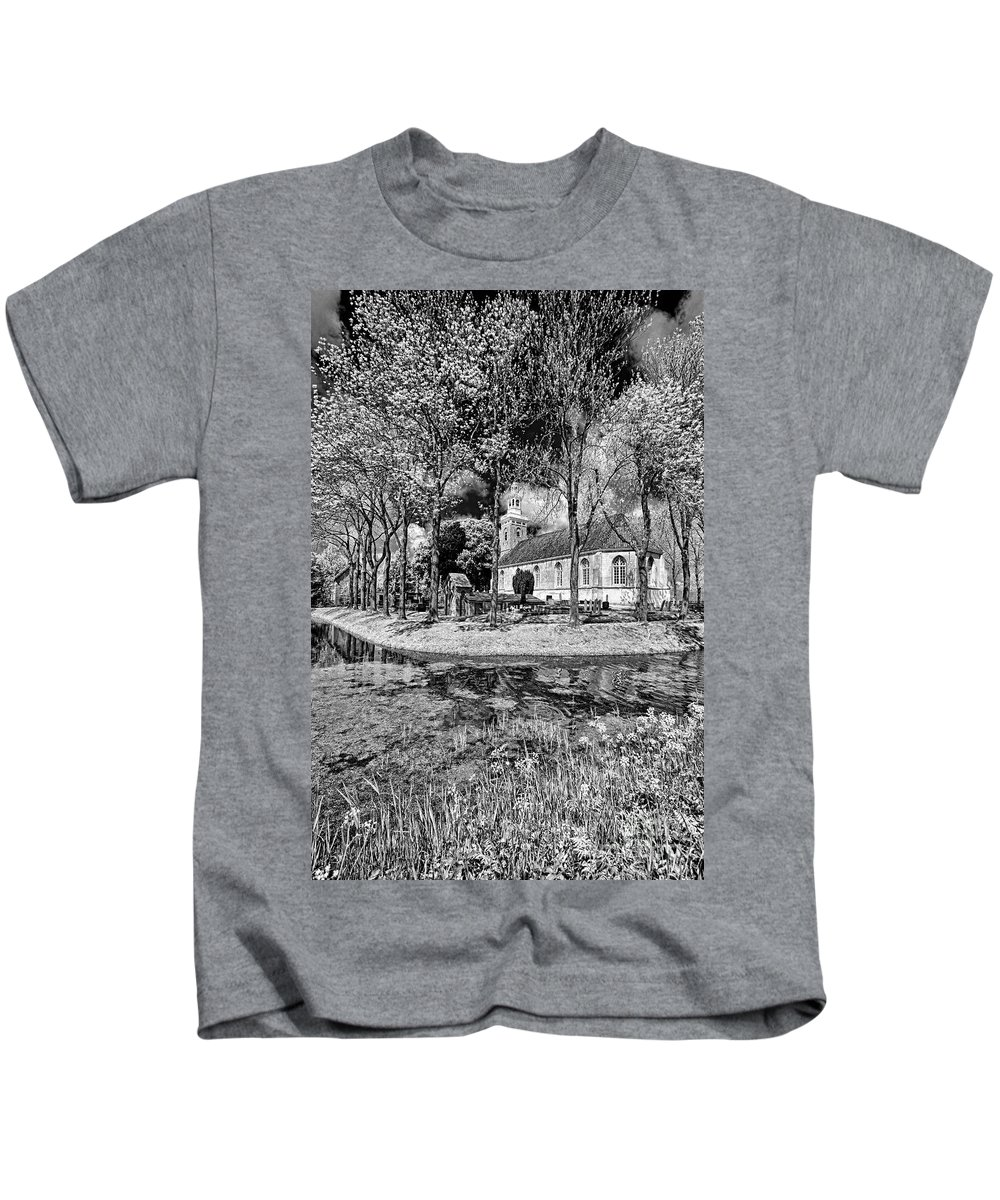 Holland Kids T-Shirt featuring the photograph Church In Holland by Casper Cammeraat