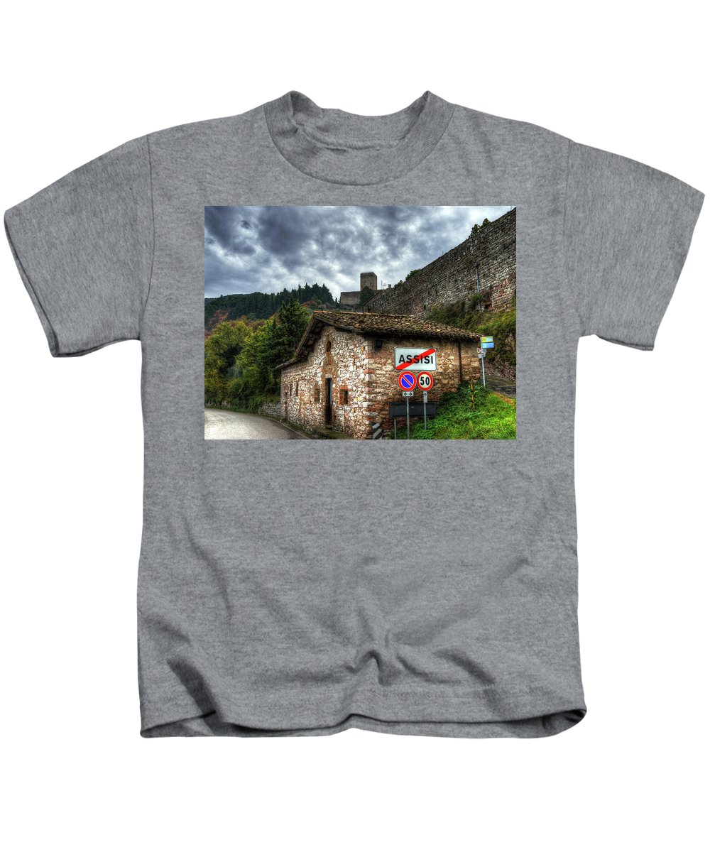 Sky Kids T-Shirt featuring the photograph City Limits by Darin Williams