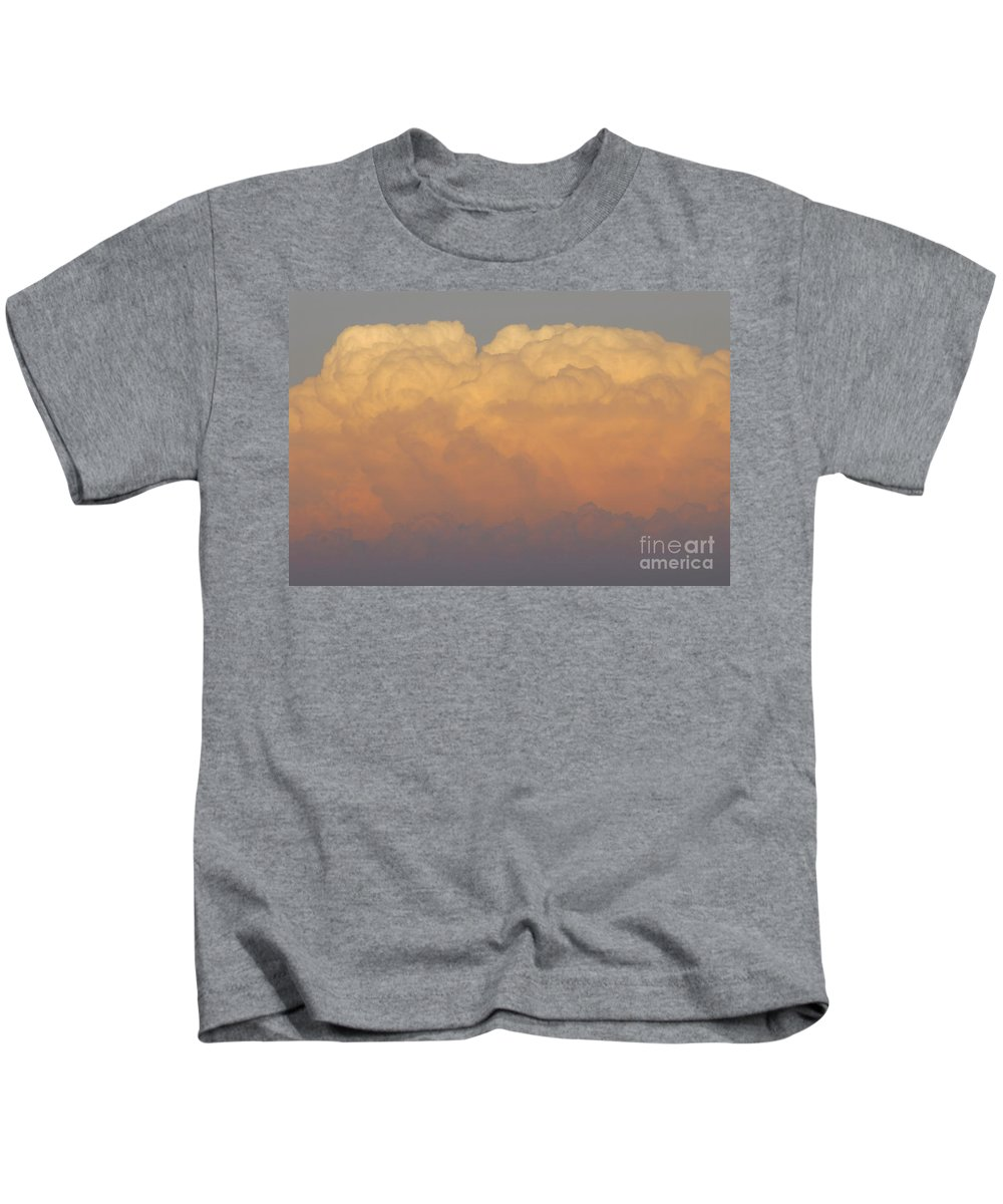 Clouds Kids T-Shirt featuring the photograph Cloudscape Work Number Six by David Lee Thompson