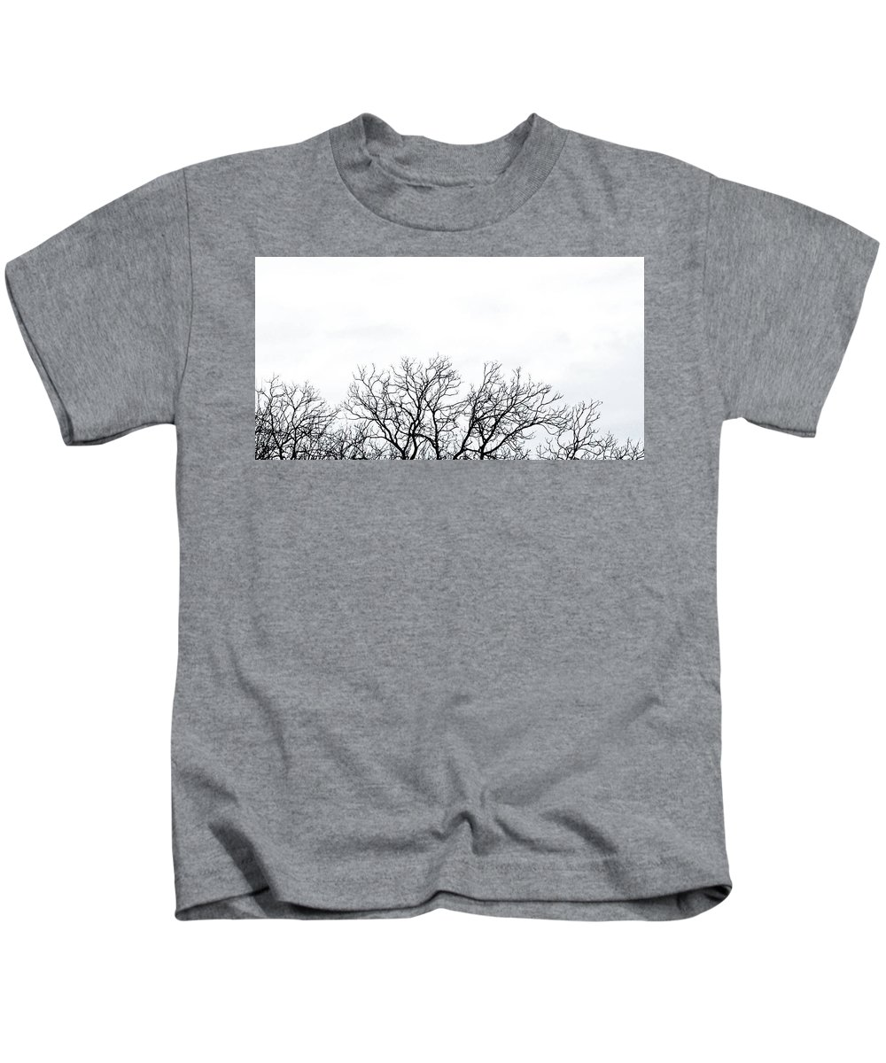 Landscape Kids T-Shirt featuring the photograph Cold Days by KG Thompson