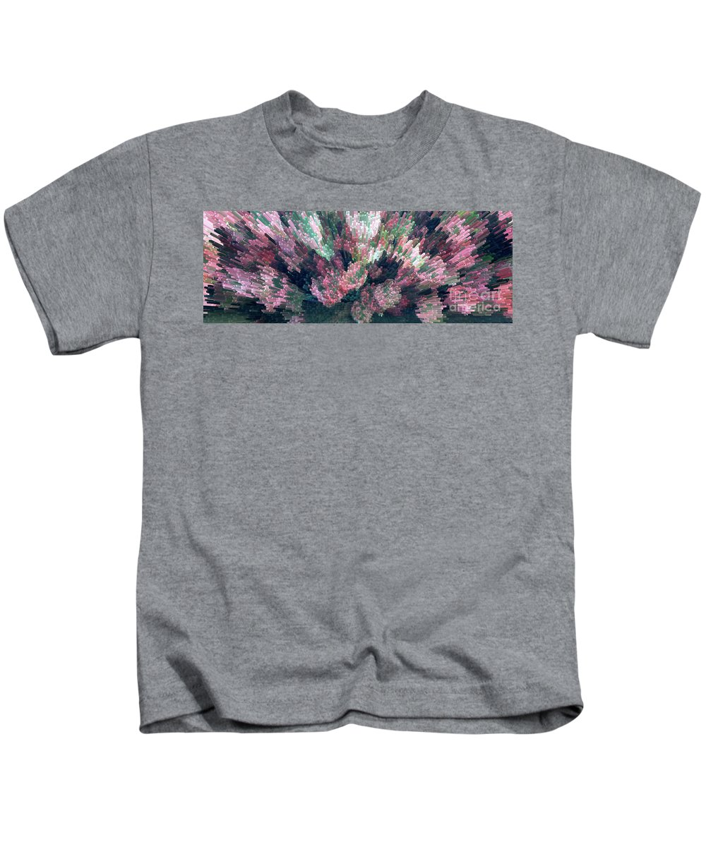 Plant Kids T-Shirt featuring the photograph Coleus Extrusion by Laura Mace Rand