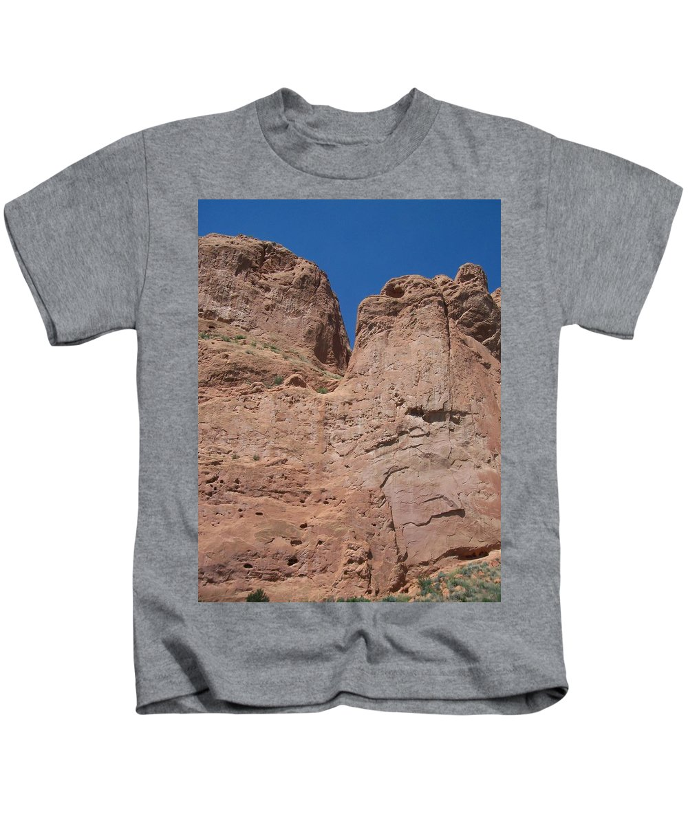 Colorado Kids T-Shirt featuring the photograph Colorado Redrock by Anita Burgermeister