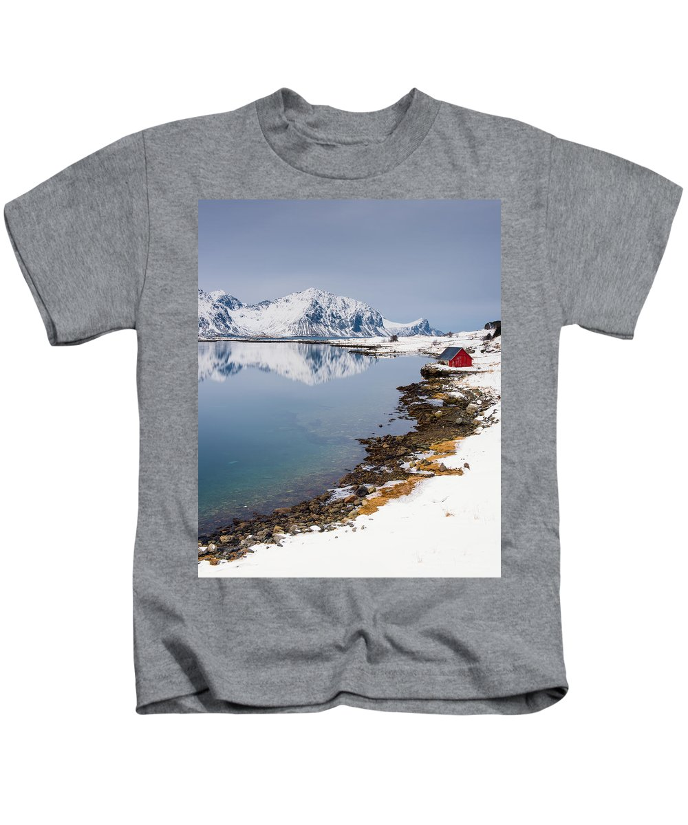 Arctic Kids T-Shirt featuring the photograph Composure - Vertical by Michael Blanchette