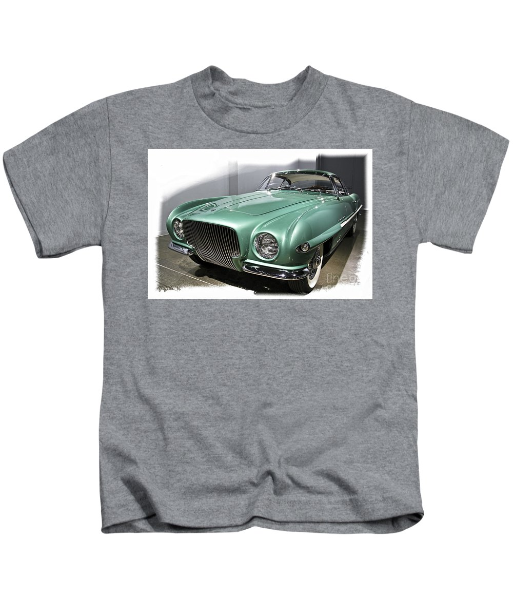 Concept Cars Kids T-Shirt featuring the photograph Concept Car 2 by Tom Griffithe