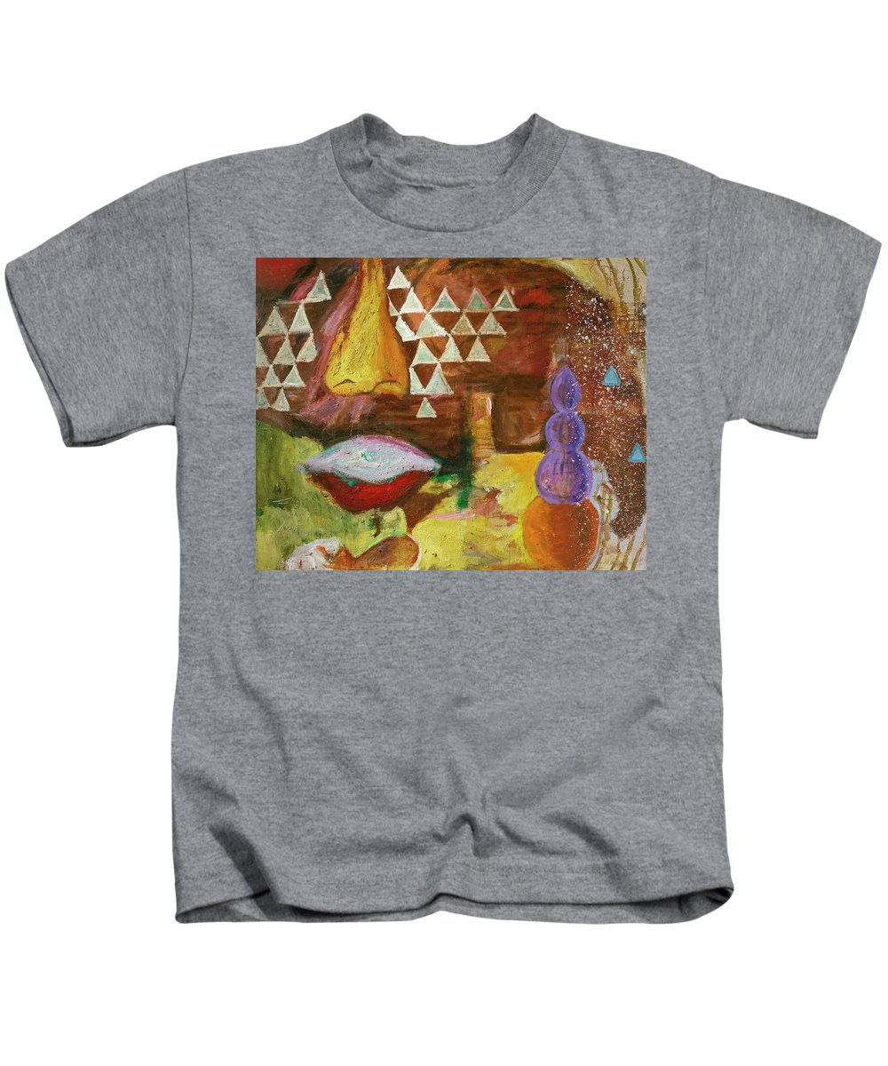 Lips Kids T-Shirt featuring the painting Congo by Regina Gately