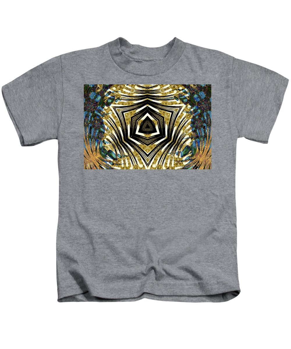 Abstract Kids T-Shirt featuring the digital art Contained Herein by Jim Pavelle