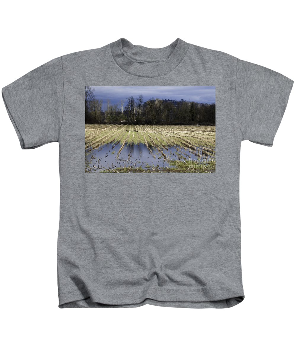 Art Kids T-Shirt featuring the photograph Country Living Eh by Clayton Bruster