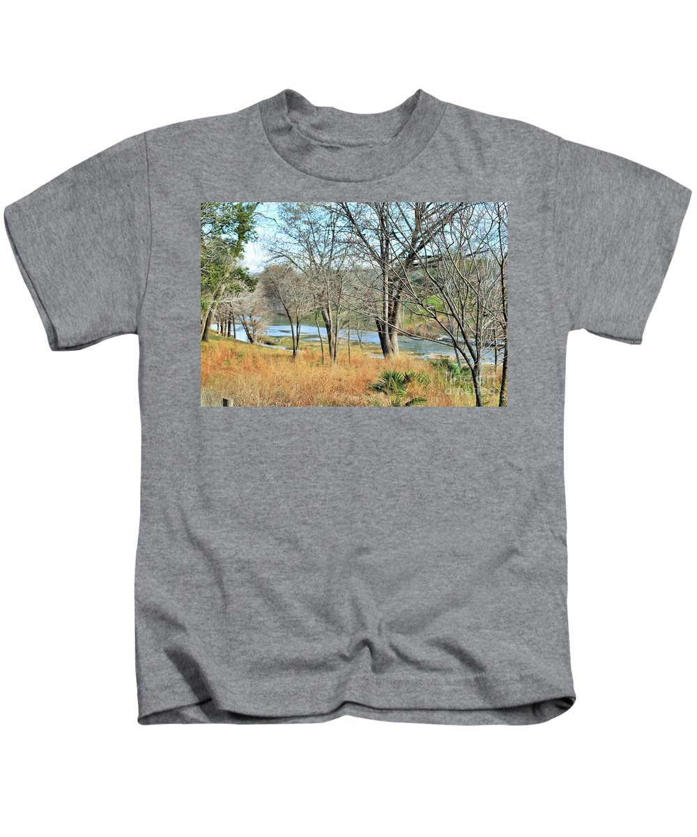Kids T-Shirt featuring the photograph Country Time by Jeff Downs