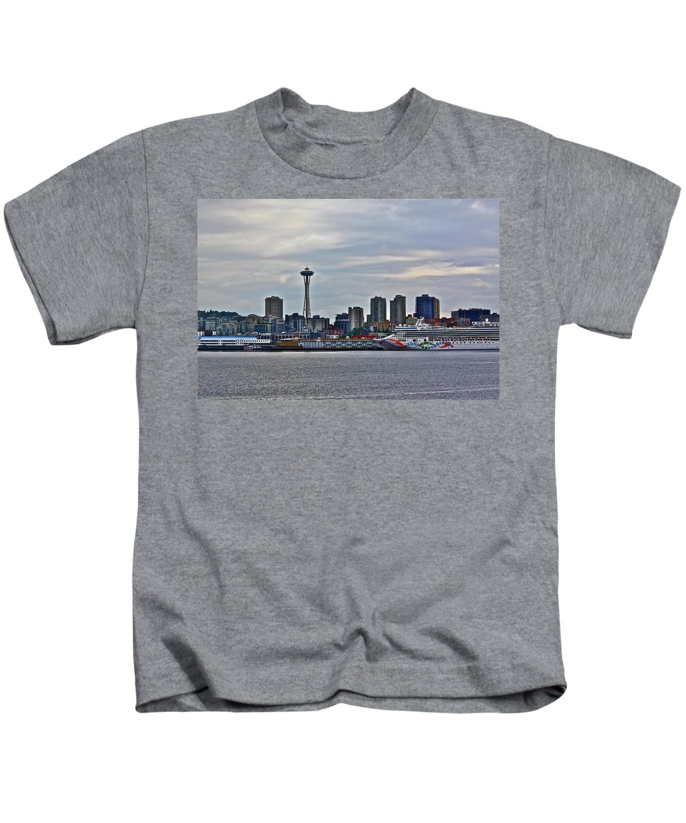Cruise Kids T-Shirt featuring the photograph Cruise Ahead by Diana Hatcher