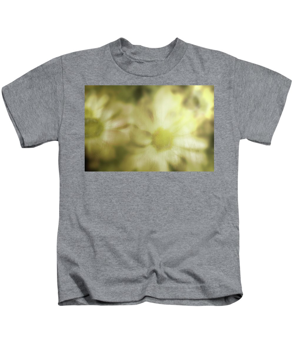 Kids T-Shirt featuring the photograph Daisies by Gray Artus
