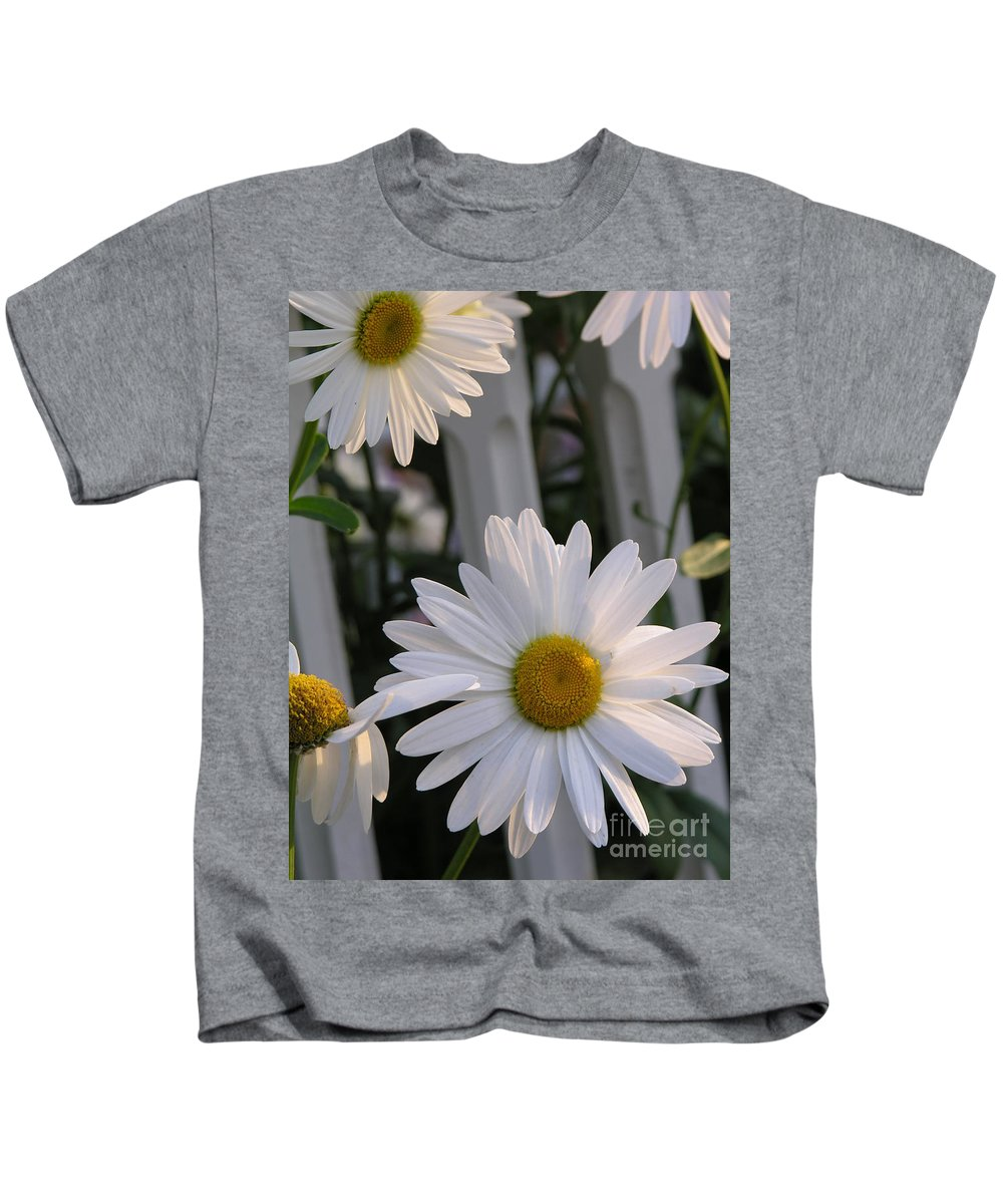 Daisy Kids T-Shirt featuring the photograph Daisy by Diane Greco-Lesser